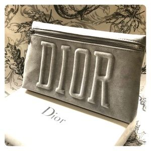 NWT Dior cosmetic pouch